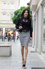 286 (ZoeLinda) Tags: lindazoe tgirl tranny crossdresser drag legs heels highheels stilettos skirt makeup crossdressing fashion