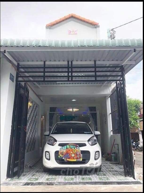 Nhà 2 mặt tiền đường nhựa bao ôtô, xe tải vào thoải mái