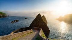 wild atlantic way (gregor H) Tags: countykerry irland ie rocks dunquin pier coast wild atlantic sunset foggy