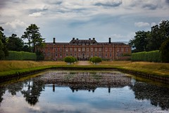 Hall reflected (Phil-Gregory) Tags: erddighall hall reflection water building naturephotography nationaltrust nikon d7200 sigma18250macro zoom superzoom 18250
