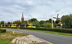 Uurtje Utrecht 8 (Peter ( phonepics only) Eijkman) Tags: utrecht uov sneltram tram transport trams tramtracks trolley rail rails strassenbahn streetcars nederland netherlands nederlandse holland