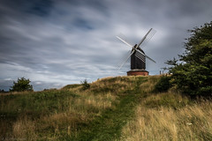 Beneath changing skies (Anthony P.26) Tags: architecture brillwindmill buckinghamshire category england external landscape longexposure places travel windmill agriculture trade mill clouds bluesky whiteclouds grass trees motionblur canon1585mm canon70d canon outdoor landscapephotography travelphotography