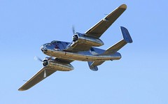 Flying Bulls Mitchell (Chris Baines) Tags: mitchell b25j two wright cyclone r 260035 piston engines
