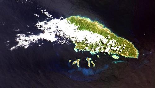 Ilha Mohéli no Arquipélago de Comores, no Oceano Índico