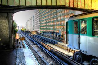 Metro Station Bir-Hakeim
