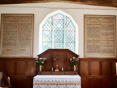 Altar St Mary's Church Withersdale Suffolk (Simon Ross Photos) Tags: stmaryschurch withersdale suffolk churches olympus penf 2018