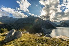 Kölnbreinsperre (manuel.thaler) Tags: kölnbreinsperre power water lake mountain maltatal austria carinthia kärnten malta sun clouds
