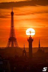 Like a bulb (A.G. Photographe) Tags: anto antoxiii xiii ag agphotographe paris parisien parisian france french français europe capitale d810 sigma 150600 toureiffel eiffeltower colonnedejuillet géniedelabastille églisesaintpaul saintechapelle
