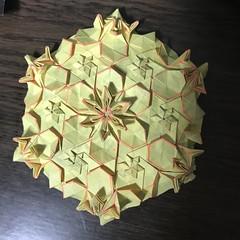 practice practice practice! (kz_miu910) Tags: origamitessellations tessellations origami おりがみ 折り紙 摺紙 折纸