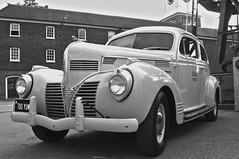 Dodge Sedan (Steeve Lane (Please Read Profile)) Tags: kent england chathamhistoricdockyard car dodge usa 1940s blackandwhite mono history vintage