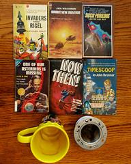 IP270: Vintage paperbacks were on sale (Thiophene_Guy) Tags: thiopheneguy originalworks olympusomdem5ii ironphotographerchallenge utata:project=ip270