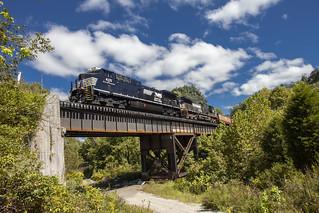 Train 188, Prichard, WV