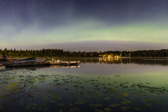 Ness Lake Full Moon Aurora (robertdownie) Tags: aurora auroraborealis britishcolumbia northernlights canada reflection astronomy astrophotography beautyinnature idyllic illuminated lake nature nauticalvessel night nopeople outdoors scenicsnature sky space spaceandastronomy starspace tranquilscene tranquility water waterfront nesslake princegeorge