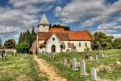 A Peaceful Churchyard (clivea2z) Tags: unitedkingdom greatbritain hampshire silchester church romanoccupation romantown callevaatrebatum