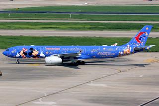 China Eastern Airlines | Airbus A330-300 | B-6507 | Shanghai Disney Resort livery | Shanghai Hongqiao