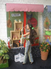 A-Z Doll Challenge 2.0: W - Wedge heel shoes (Mary (Mária)) Tags: barbie doll az challenge wedge heel shoes ship shopping plaza chanel moschino humanic lindex summer trends fashion jewellery outfit showcase dollphotographer handmade katniss thehungergames marykorcek diorama miniatures bag