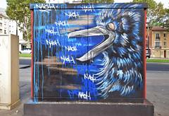 Corbeau (HBA_JIJO) Tags: streetart urban graffiti paris animal art france hbajijo painting oiseau peinture bird urbain coffret corbeau armoire naöh
