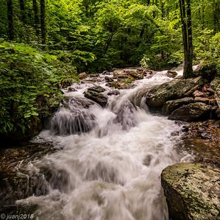 Waterfall in Helen, GA