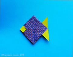 Fish (mancinerie) Tags: origami paperfolding papiroflexia papierfalten francescomancini mancinerie fish