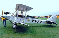 VH-UFZ   Avro 594 Avian II [R3/AV/127] Cranfield~G 05/07/1998 (raybarber2) Tags: airportdata australiancivil biplane cnr3av127 egtc flickr planebase print r3av127 single vhufz