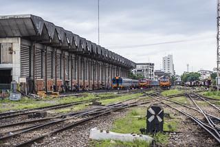 Thailand Railway factory