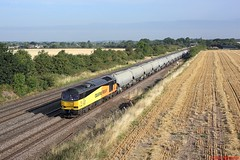 60002 Cossington 07-08-18 (benwheeler) Tags: 60002 colas rail freight 6l44 oxwellmains west thurrock cossington mml gbrf