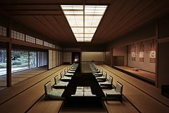 Kiri no ma, the Kyoto State Guest House, Japan (o-kei) Tags: architecture architect architecturephoto japaneseroom japan kyoto washitsu tatami lacquer 京都迎賓館 nikkensekkei 日建設計 sigma dp0 sigmadp0