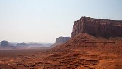 Layers (M a u r i c e) Tags: monumentvalley erosion layer sky rock nature nationalpark landscape canon unitesstates usa efs1022mmf3545usm