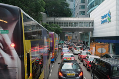 Central (syf22) Tags: journey bus street people houses highrise buildings accommodation cars automobile road central pedestrian walkers taxi view urban cityscape city cityscene cityskyline citycentre cityarchitecture earthasia