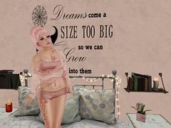 Dream Big LOTD (tara.rojyo) Tags: teefy laq lulu maitreya truth truthhawk izzies lotd