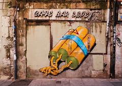 Miguel Maestro Cerezo, alias CERE (Thethe35400) Tags: artderue arteurbano arturbain arturbà arteurbana calle grafit grafite grafiti graffiti graffitis graff mural murales muralisme plantilla pochoir stencil streetart schablone stampino tag urbanart wall