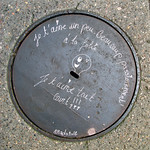 Words on pavement by Mado [Lyon, France] thumbnail