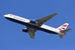 B767 G-BNWZ London Heathrow 13.09.18 (jonf45 - 4 million views -Thank you) Tags: b767 767 london heathrow airport egll lhr airliner civil aircraft jet plane flight aviation british airways boeing 767336er gbnwz
