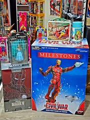 Recent Arrivals – More Iron Man and Other Stuff – 18 Aug 2018 (My Toy Museum) Tags: recent arrival arrivals six million dollar man bionic woman action figure hot toys iron mark v metal lunch box thermos shogun warriors raider star missile medicom udf alice wonderland