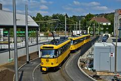Tatra T4D-MT #224_277 DVB Dresden Drezno (3x105Na) Tags: tatra t4dmt 224277 dvb dresden drezno deutschland germany niemcy sachsen saksonia strassenbahn strasenbahn tram tramwaj
