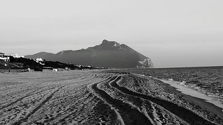 Circeo, view from Sabaudia