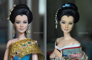 for sell : repaint Barbie Made To Move : Lea