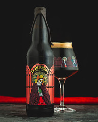 Freetail Brewing - 2017 La Muerta Stout (singinkang) Tags: beer beveragephotography product stout beverage craftbeer brewery alcohol