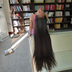 d31f3574928191192394c6c6d2d4fe1e (韩老板收购长头发) Tags: longhair haircut hairshow hairplay braid ponytail hairbun hairjob