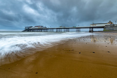 Threatening sky (andybam1955) Tags: beach landscape cromerpier seascape coastal cromer sky northnorfolk rural clouds norfolk sea