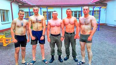 pacs7poZpR1w7bcy7o1_raw (ivostrewiz) Tags: russian military army shirtless sexy male man young muscular people