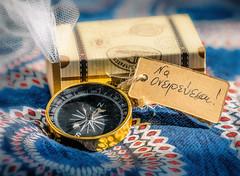 Dream On - Να ονειρεύεσαι (Manosss (No Hype-Fi)) Tags: dreamy dream bokeh compass bomboniere christening wedding greek color dreaming soft navy tokina light macro new panasonic gx80 gx85