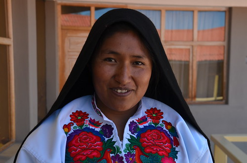 A kind host, Amantani, Lake Titicaca