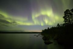 aurora 10.9.-18 (Hotel Korpikartano) Tags: revontulet northernlights auroraborealis korpikartano irix