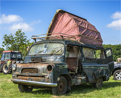 Not my idea of camping (Clive1945) Tags: d7100 bromyardgala bedford 1961