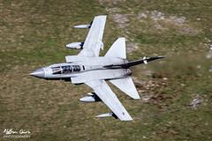 RAF Tornado GR4 ZA607 low level at Tebay (NDSD) Tags: low level panavia tornado gr4 tebay cumbria flying jet raf lake district plane aviation aircraft