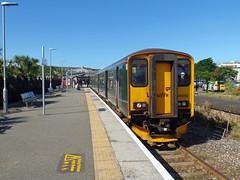 150202 Newquay (1) (Marky7890) Tags: gwr 150202 class150 sprinter 2n07 newquay railway cornwall atlanticcoastline train
