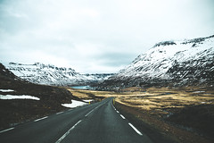 The way forward (lu★) Tags: iceland cold north travel road trip