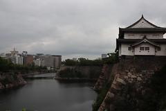Osaka Castle (eyawlk60) Tags: osaka castle 大阪城 空 木 水 壕 堀 櫓 やぐら flickraward