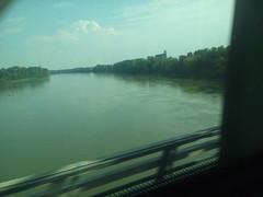 il po a verona dal frecciarossa (ERREGI 1958) Tags: fiume river po treno trai fs trenitalia verona frecciarossa panorama landscape